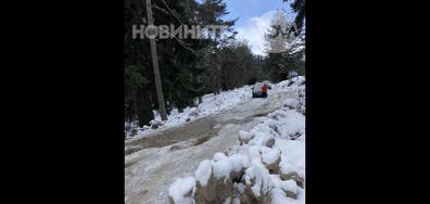 Блокирани хора в Семково