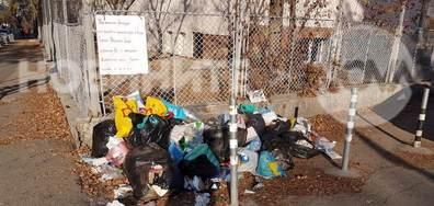 Изхвърляне на боклуци на улицата