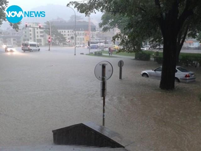 Дъждът в Габрово