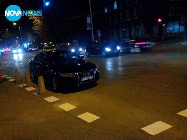 Паркиране в кръстовище