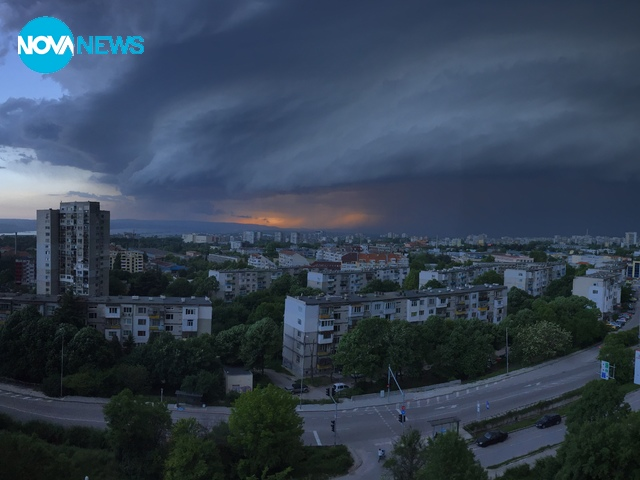 Буря над Варна