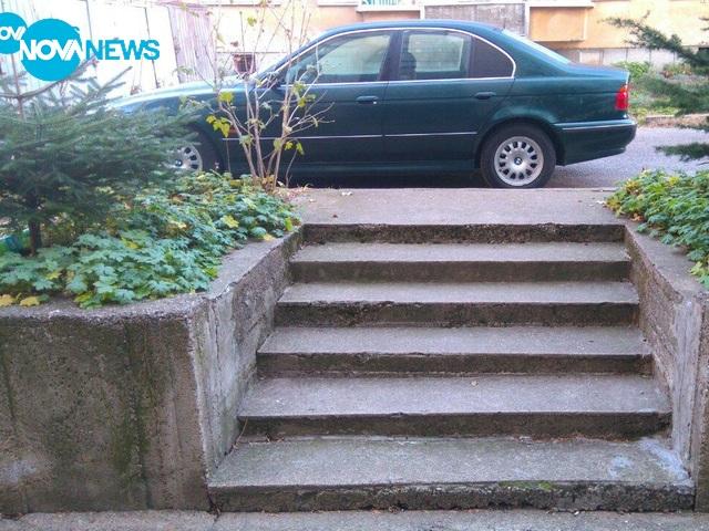 Поредното нагло паркиране в Сливен