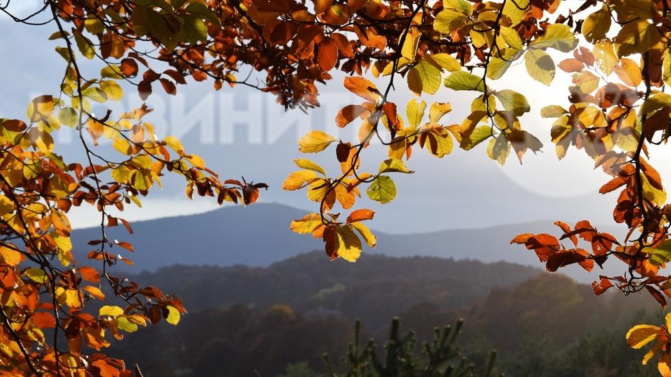 Прозорчето на есента в Осоговската планина