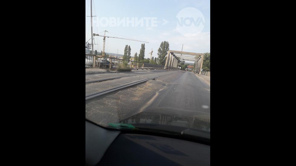 Забравеният от Бога стар Аспарухов мост