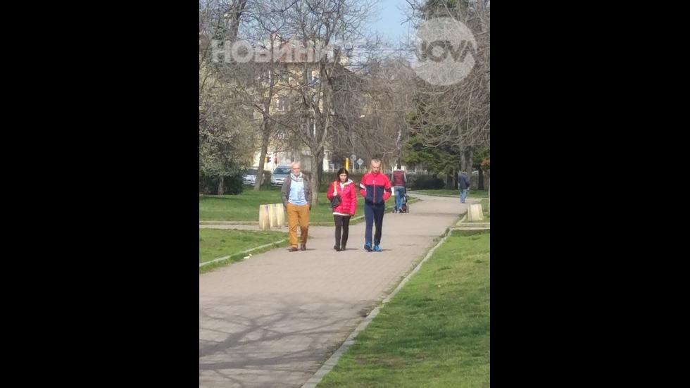 Спазване на мерките по извънредното положение в София
