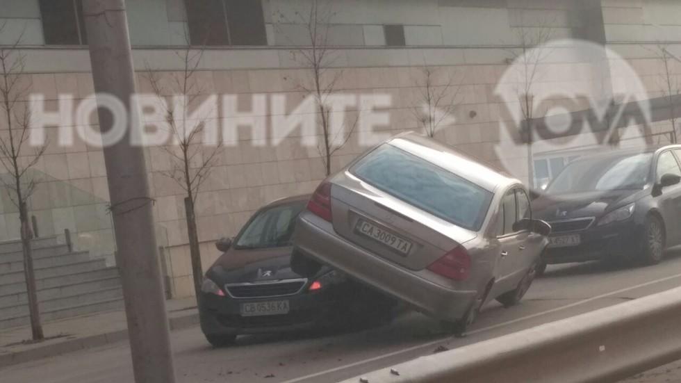 Странна катастрофа в София