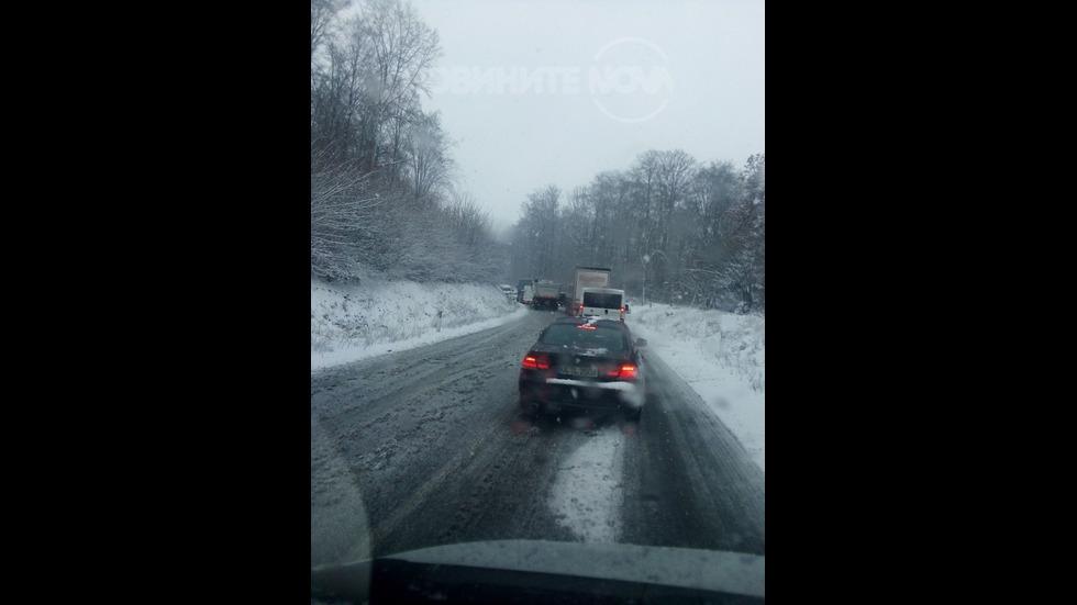 Обстановката след първи сняг в Германия