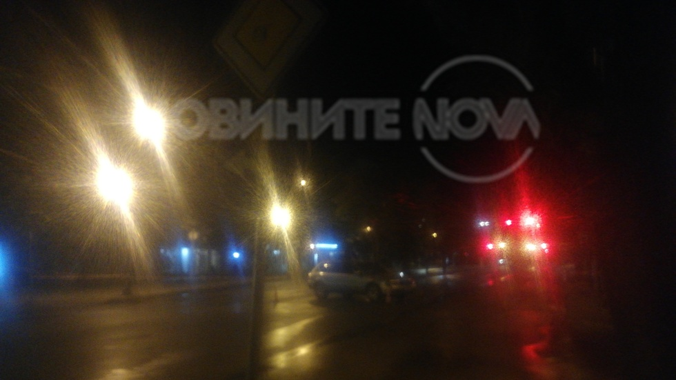 Блокиране на центъра на град Варна