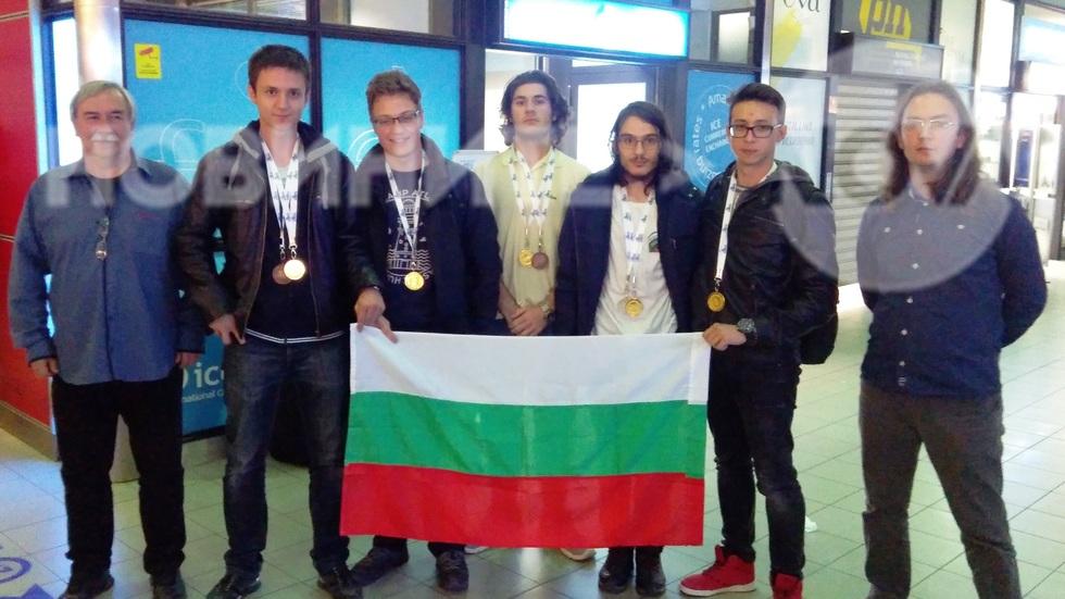 Златни медали за отбора ни по астрофизика
