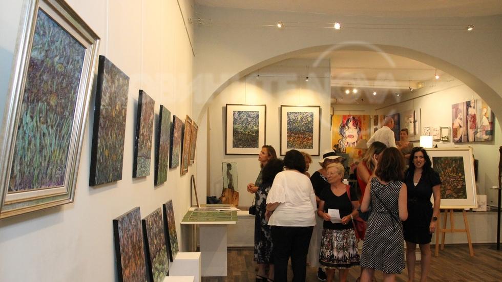 Изложба на Даниел Динев в Ница, Франция