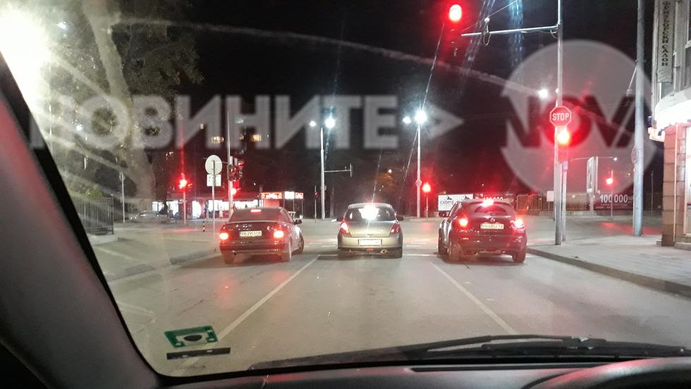 Интересно изчакване на светофар