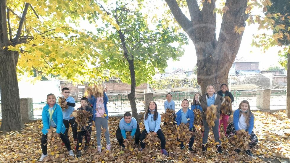 Есен в училище