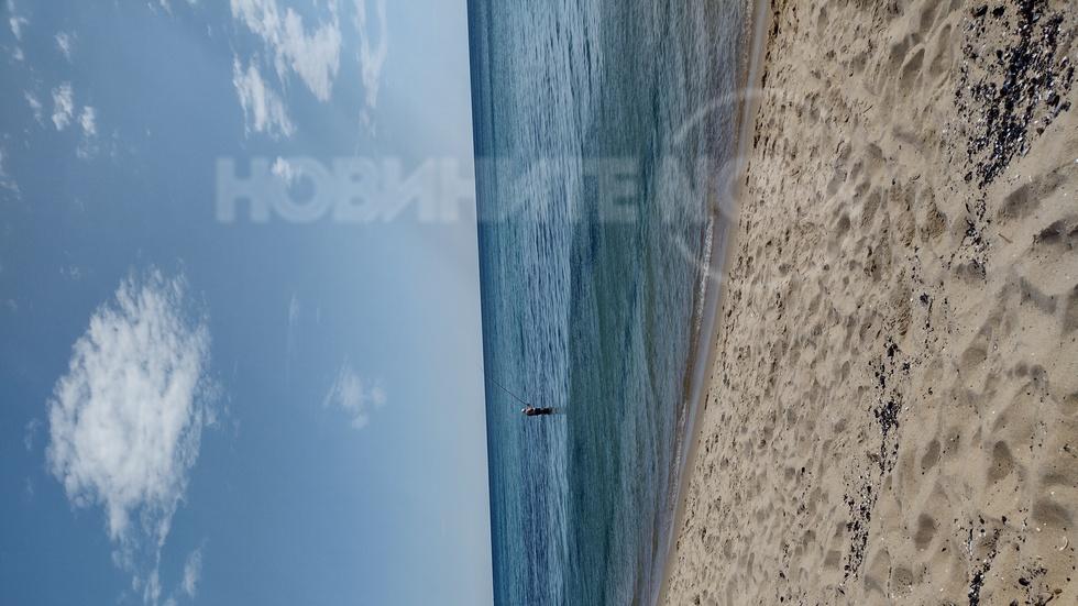 Риболов на плаж с концесионер, Шкорпиловци