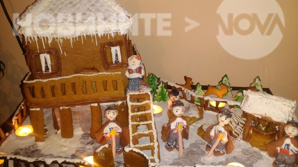 Коледа в селска къща