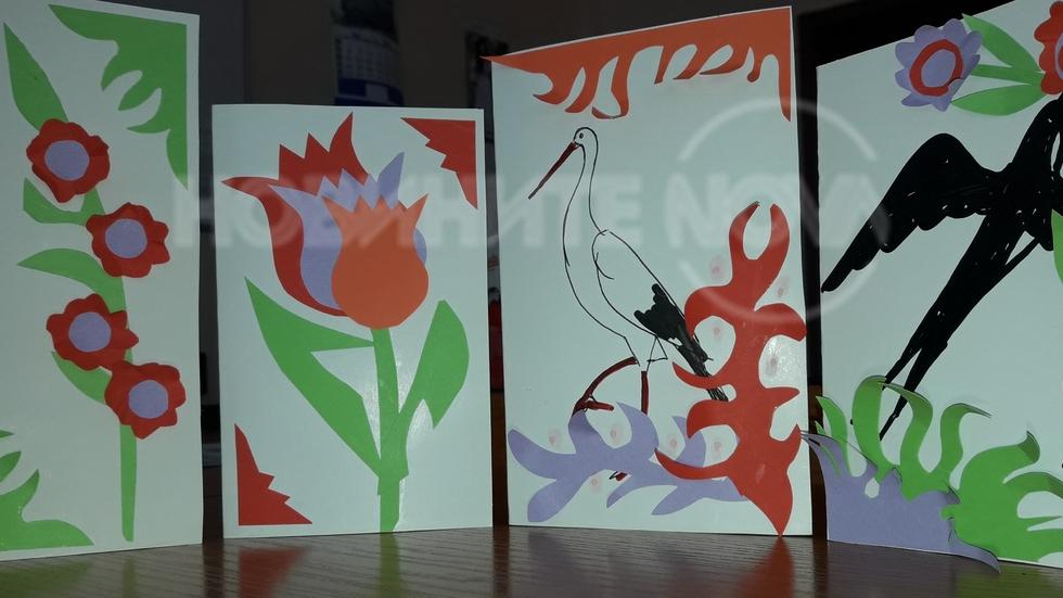 Пролетно настроение в час по рисуване