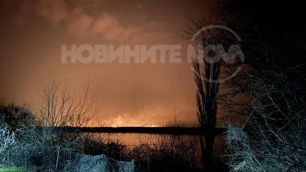 Пожар в Румъния