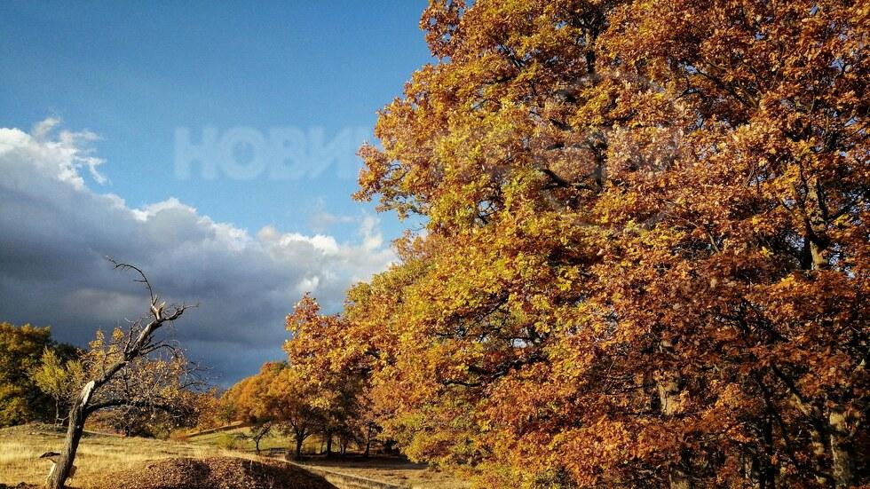 Есенна картина край Калофер