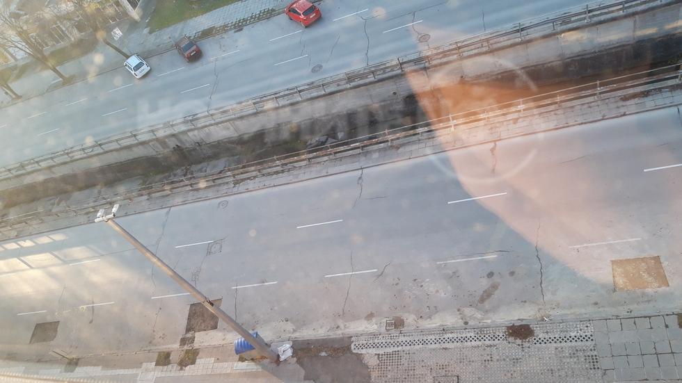 Рушене на булевард