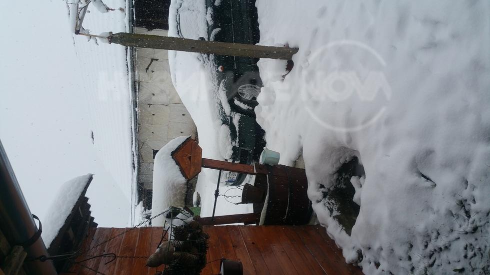 Първият сняг при нас! :)