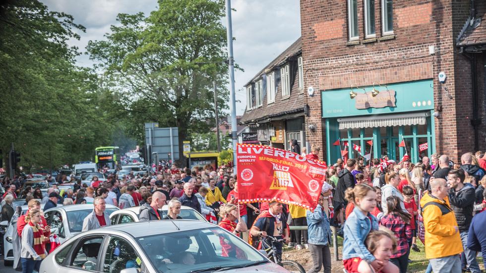 Ливърпул - парад на победата