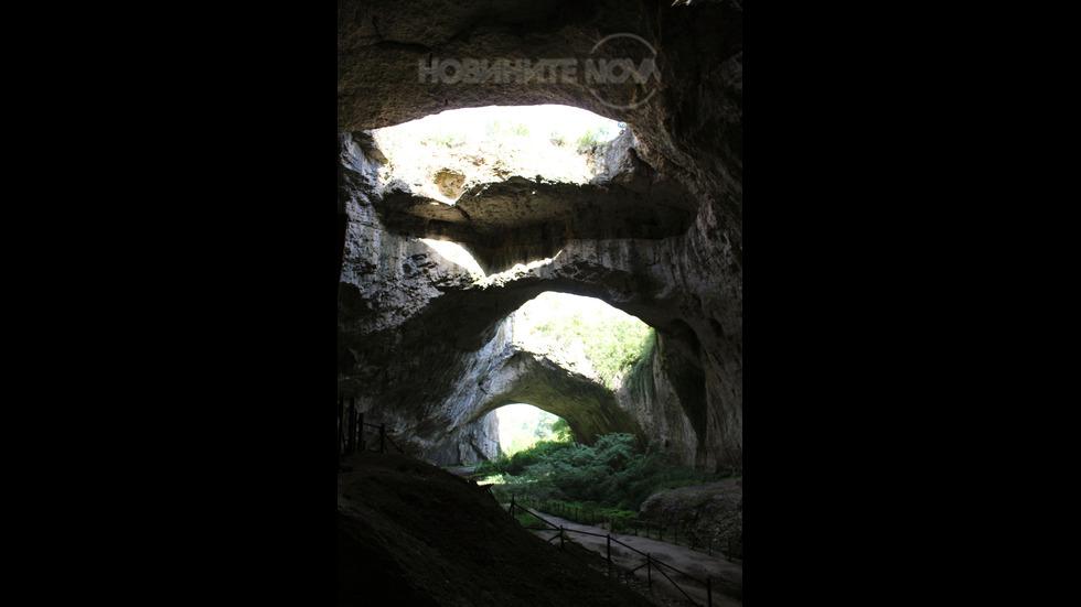 Прохлада от Деветашката пещера