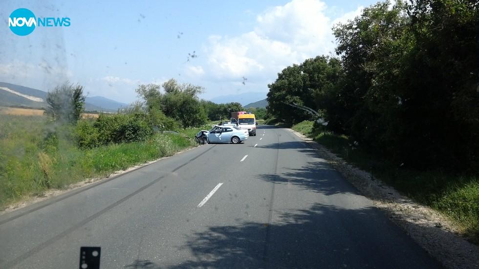 Катастрфа на пътя до с. Новачене