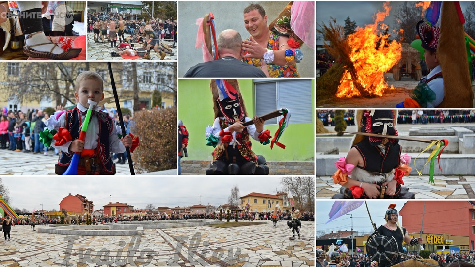 Карнавални шествия в Павел баня