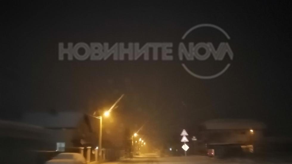 Снегът в София