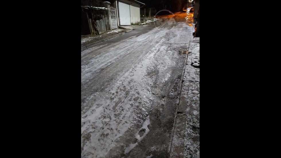 Опасни, непочистени улици в елитен столичен квартал