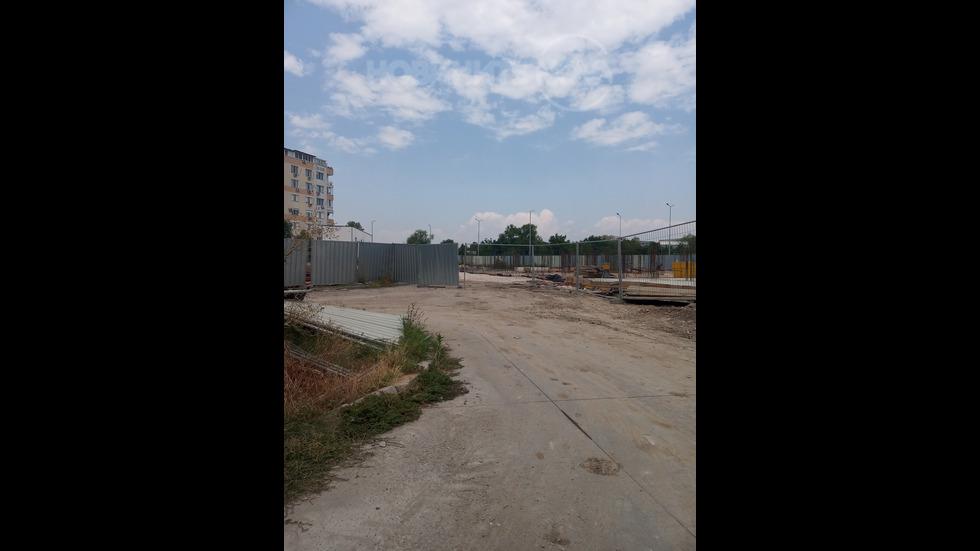 Своеволия на строителна фирма в гр. Пловидв
