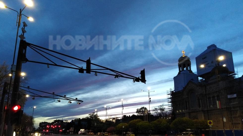 Залез над Варна