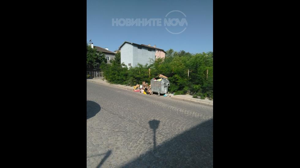 Недопустима гледка в центъра на Пловдив