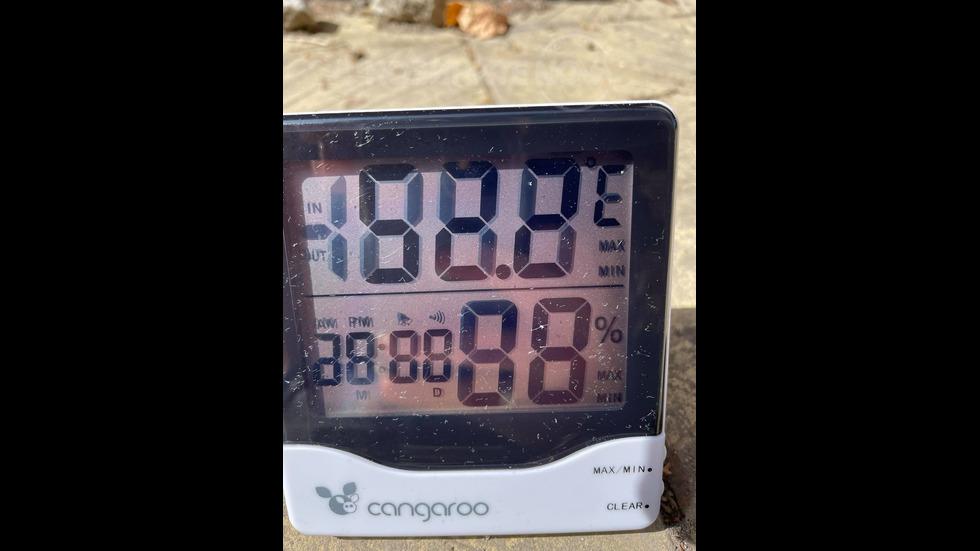 Температура в град Пазарджик