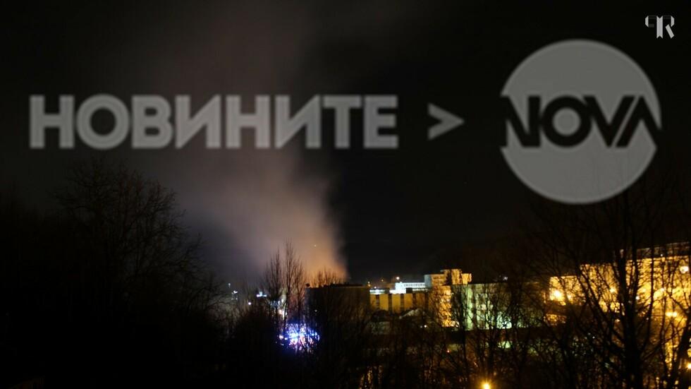 Пожар в Габрово