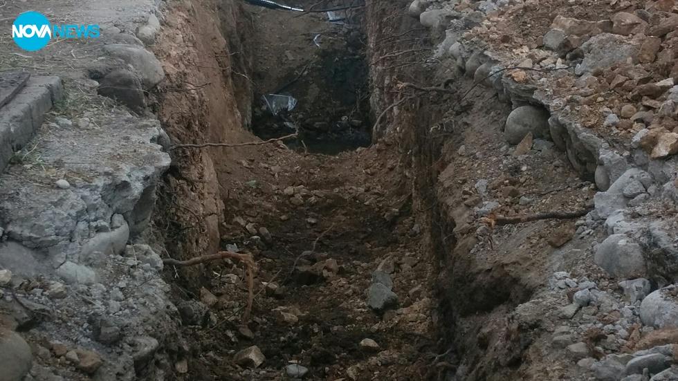 Запушен канал за мръсна вода