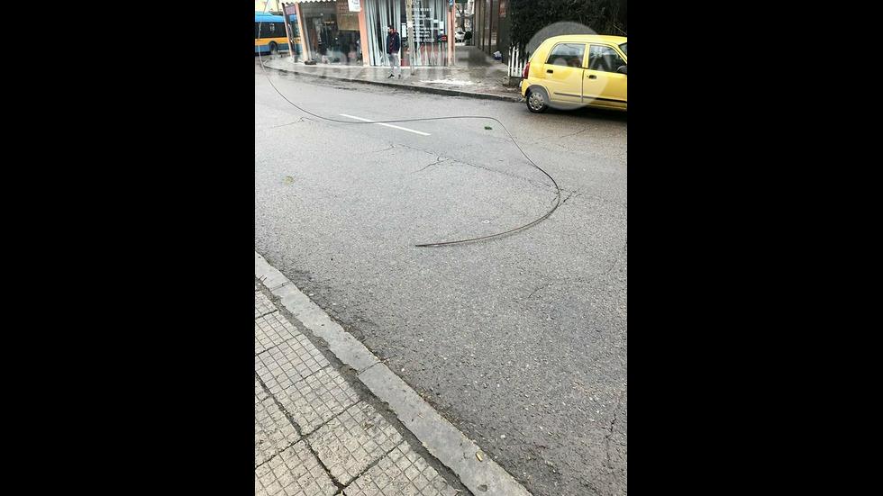 Опасен масов градски транспорт в София