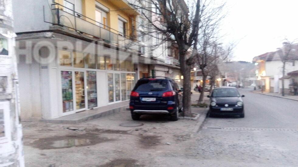 Нагло паркиране