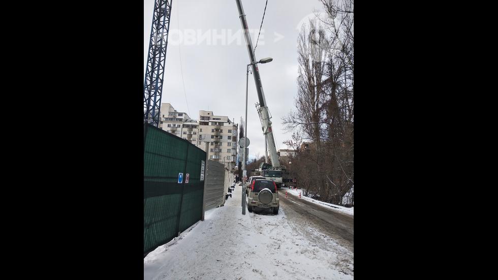 """Затворена ул. """"Крум Кюлявков"""" в Дианабад"""