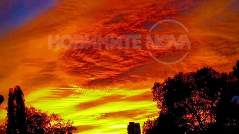 Изгрев над Враца