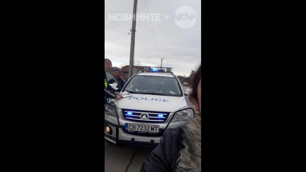 Полицейски автомобил без застраховка и винетка