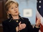 Хилари Клинтън: Кадафи трябва да обяви спиране на военните действия