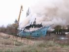 Пожар унищожи един от символите на Бургас