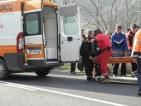 Жена почина, млад мъж е в кома след катастрофа на Гергьовден