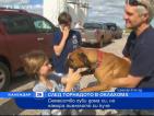 След торнадото: Семейство губи дома си, но намира оцелялото си куче