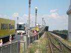 Задръстване и опашки заради ремонта на Дунав мост