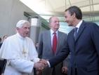 Папата бе посрещнат с бурни протести в Испания