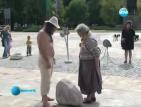 Врачански скулптор показа, че няма безсмислен труд