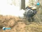 Пожари приближават голям град в Сибир