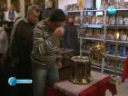 Донесоха част от мощите на светите Константин и Елена