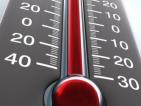 Четири положителни температурни рекорда до 14 ч.